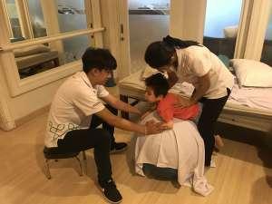 Samuel điều trị bằng tế bào gốc