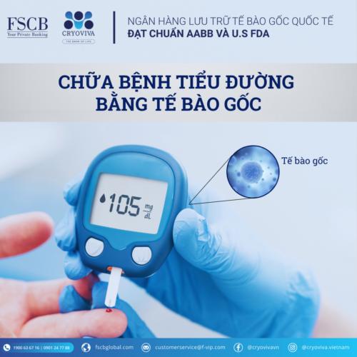 chữa bệnh tiểu đường bằng tế bào gốc cuống rốn