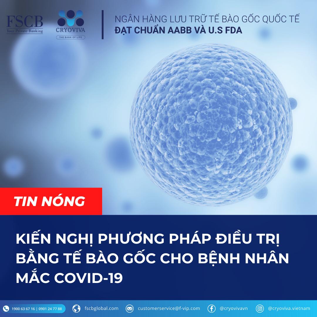 điều trị covid-19 bằng tế bào gốc