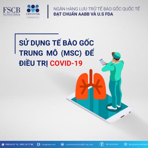 tế bào gốc trung mô msc điều trị covid-19